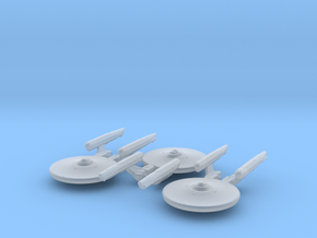 Loknar Class Refit 1/10000 x3 in Smooth Fine Detail Plastic