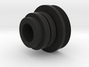 Acetech Lighter S Werstar Endcap in Black Natural Versatile Plastic