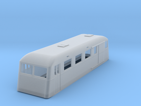 sj120fs-ubf011p-ng-trail-passenger-luggage-coach in Smooth Fine Detail Plastic