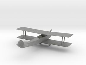 O Scale Biplane in Gray PA12