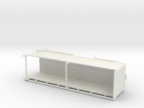 1/50th Parma 30 foot Forage Trailer in White Natural Versatile Plastic