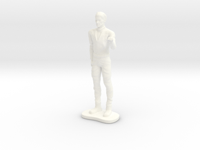 Lost in Space - 1st Season - Dr Smith - 1.35 in White Processed Versatile Plastic