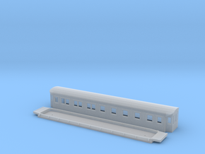 BCo7 - Swedish passenger wagon in Smooth Fine Detail Plastic