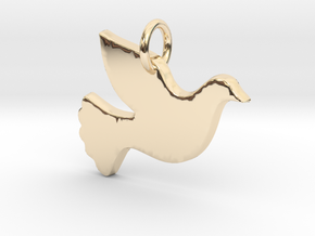 Fly Pendant- Makom Jewelry in 14k Gold Plated Brass
