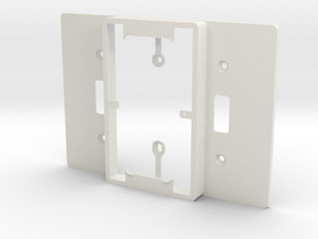 Philips Hue Dimmer Triple Gang Plate (US Toggle) in White Natural Versatile Plastic