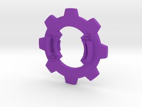 Beyblade Matryoshka | Anime Attack Ring in Purple Processed Versatile Plastic