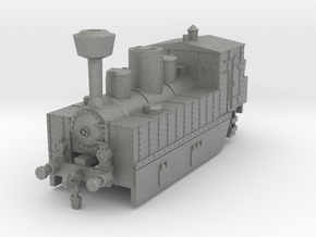 Locomotive 178 armored conversion 1:160 in Gray PA12