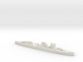 Spanish Canarias cruiser 1:1200 WW2 in White Natural Versatile Plastic
