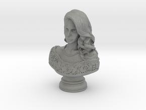 Lana Del Rey Mini Bust in Gray PA12