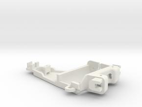 Full adjustable motor pod for NSR Slotcars in White Natural Versatile Plastic
