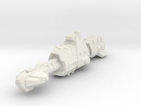 USASF Destroyer in White Natural Versatile Plastic
