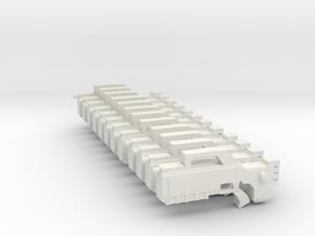 Shotgun future set in White Natural Versatile Plastic