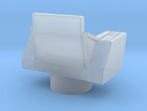 Bridge - Captain's Chair 32a (Model) in Smooth Fine Detail Plastic