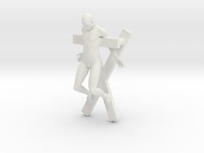 Printle S Homme 394 - 1/32 in White Natural Versatile Plastic