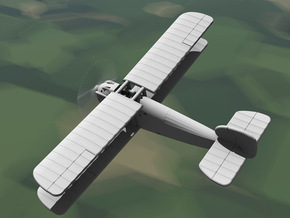 Sopwith Dolphin (various scales) in Gray PA12: 1:144
