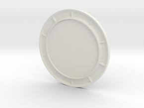 1/64 Highway steel barrier solar display  in White Natural Versatile Plastic