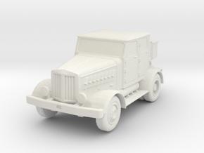 Hanomag SS100 LN 1/76 in White Natural Versatile Plastic