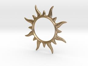 SunSpark in Polished Gold Steel