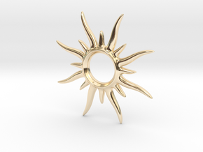 SunSpark Smal in 14K Yellow Gold