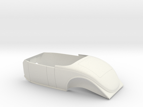 1936 Ford Coupe Body (1:8 1:12 1:16) in White Natural Versatile Plastic: 1:16
