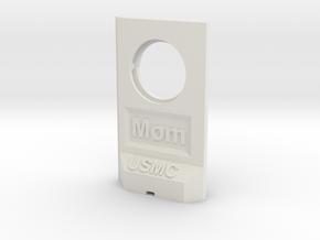 MomTwall-USMC_1.0.0 v1 in White Natural Versatile Plastic