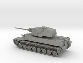 1/144 IJA Type 5 Chi-Ri Medium Tank separate turre in Gray PA12