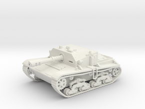 Laser-Semovente SPG (Wk.6 tank based) 28mm in White Strong & Flexible