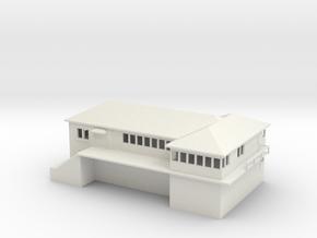 Keddie Yard Office Building Z scale in White Natural Versatile Plastic