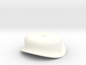 """3/4"""" Scale USRA Heavy Mikado Steam Dome in White Processed Versatile Plastic"""