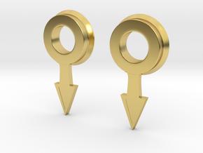 1/6 USN Telegraph pointer SET in Polished Brass