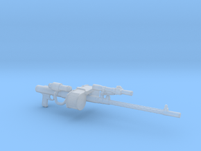 RT-97C heavy blaster rifle 3.75 scale in Smooth Fine Detail Plastic