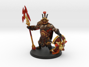 Mars in Arena Champions Set with Immortals in Natural Full Color Sandstone
