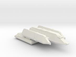 3788 Scale Carnivon Command Cruiser (CC) SRZ in White Natural Versatile Plastic