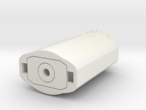 Theta Z1 lower case in White Natural Versatile Plastic
