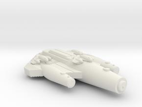 3125 Scale ISC Light Gunboat/PF Tender (DDP) SRZ in White Natural Versatile Plastic