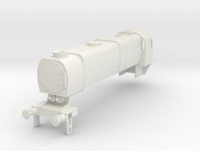 b-100-q1-loco-2-8-0-body in White Natural Versatile Plastic