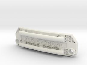 Frontgrill für Losi Baja Rey 1/10 in White Natural Versatile Plastic