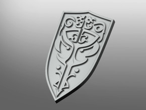 Lotherian Prime Energy Shield in Smooth Fine Detail Plastic