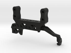 Servo Mount V4A TRX4 No Panhard Brace 1 Piece in Black Natural Versatile Plastic