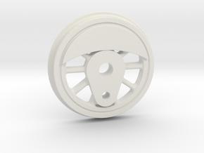 """3/4"""" Scale Caribou to USRA Switcher Conversion Mai in White Natural Versatile Plastic"""
