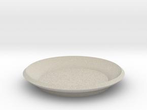 Mini plant saucer in Natural Sandstone