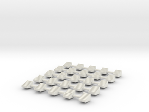 LM Switch 2 Neutral 25 Pack in White Natural Versatile Plastic