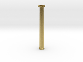 Ionic Column in Natural Brass: Extra Small