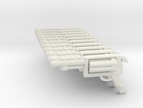 revolver SET in White Natural Versatile Plastic