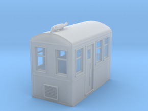 On18 RailCar in Smooth Fine Detail Plastic