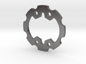 Beyblade Gear-Attack   Weight Disk   1st Gen   GA in Polished Nickel Steel