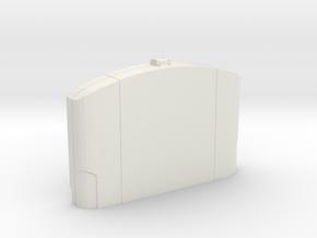 N64 Cartridge Case  in White Natural Versatile Plastic