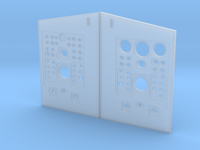 T-0 umbilical face plates in Smooth Fine Detail Plastic