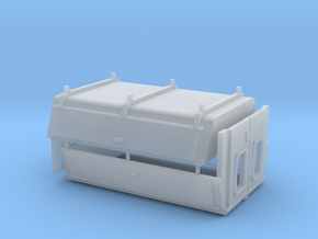 1/64 Long Bed Bed Toppers - Door Style in Smooth Fine Detail Plastic