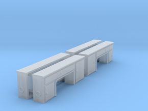 1/64th Scale Step Side Toolboxes in Smooth Fine Detail Plastic